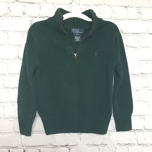 Polo Ralph Lauren Boy's Zip-Up Sweater